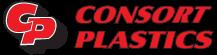 Consort Plastics Sticky Logo